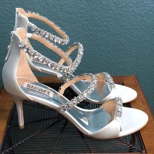 Badgley Mischka Yasmine Heeled Sandal, Diamonds